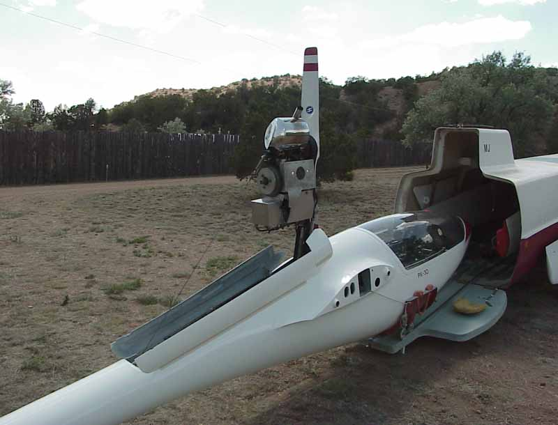 Pik30 Self Launching Sailplane for sale